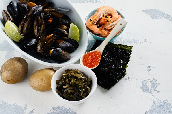 seafood iodine for thyroid